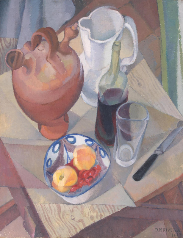 Diego Maria Rivera. Still life