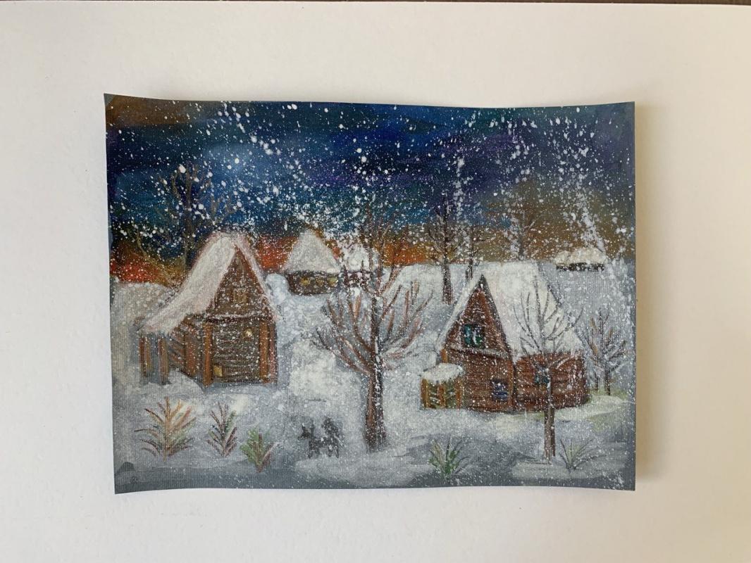 Lemberg Helen. Winter in the Village