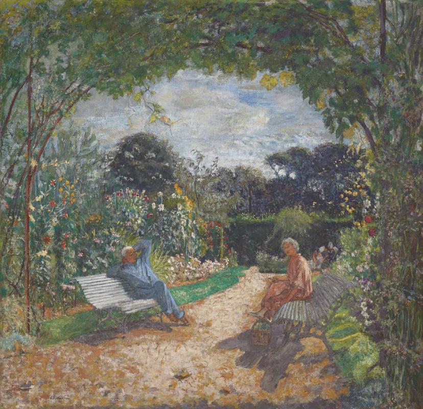 Jean Edouard Vuillard. Le matin au jardin, Clos Cézanne