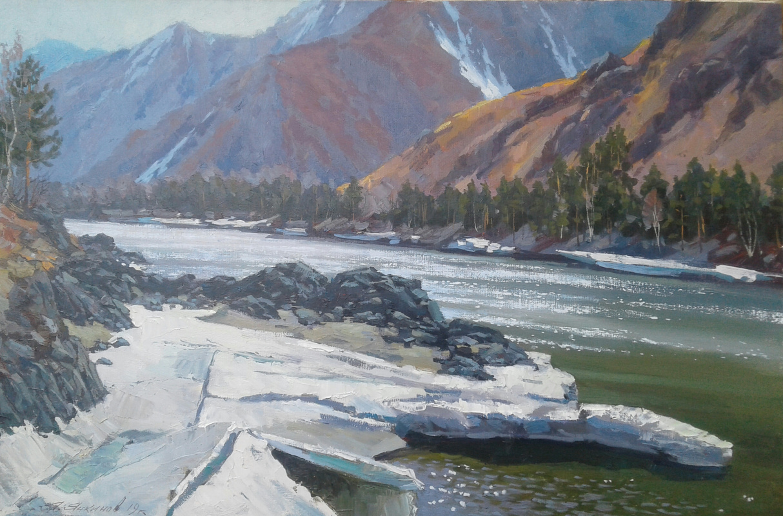 Яков Янкинов. The last ice of Katun.