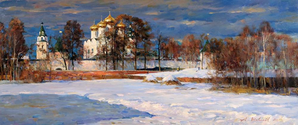 Alexander Victorovich Shevelyov. In the suburb of Kostroma