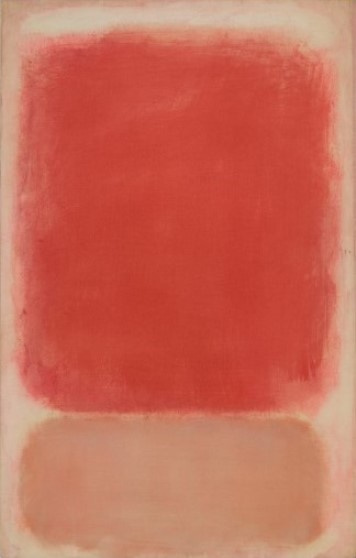 Rothko Mark. Red and pink on pink