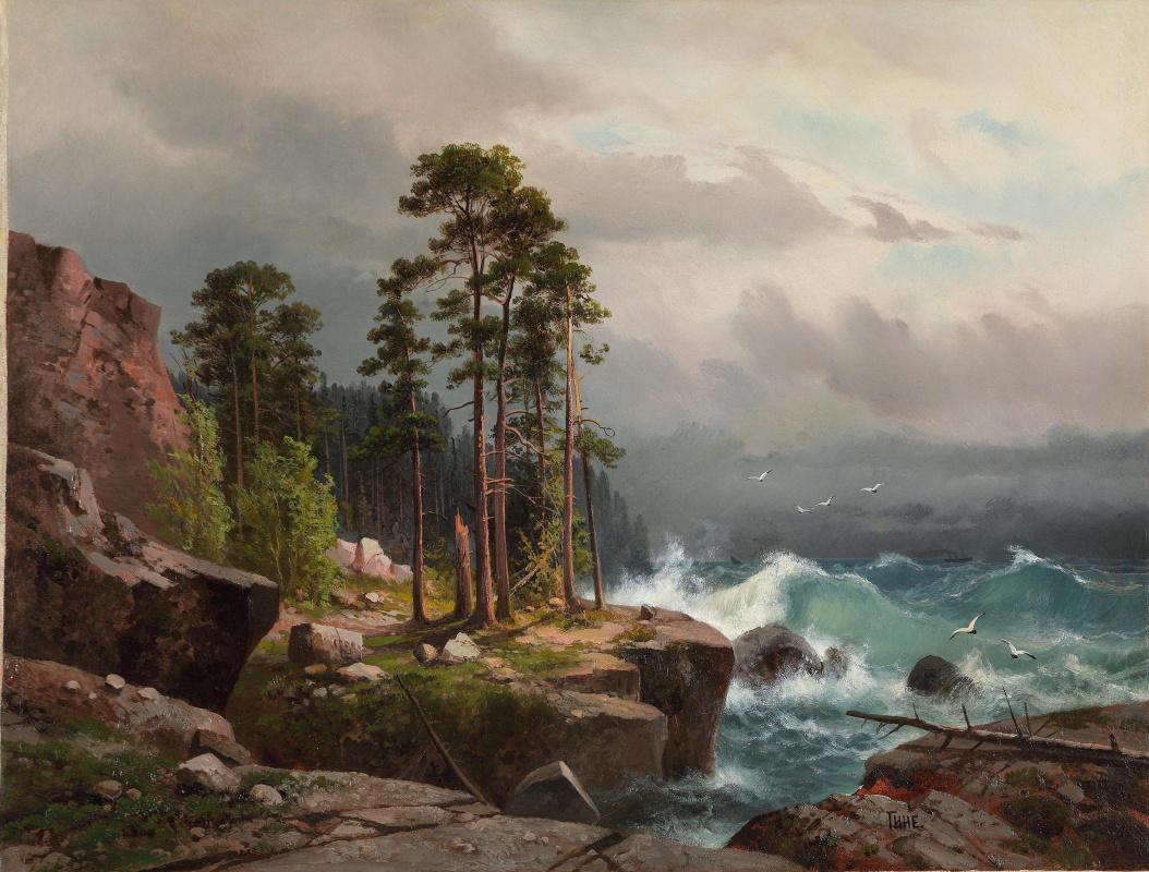 Alexander Vasilevich Gine. Storm