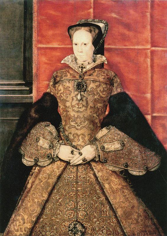Hans Evort. Mary I Tudor