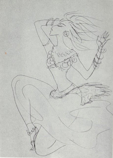 Nadezhda Nikolaevna Rusheva. Танец Шехерезады
