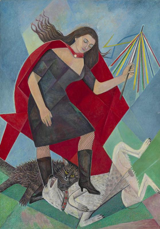 Мария Брониславовна (Воробьева-Стебельская) Маревна. Женщина и звери.