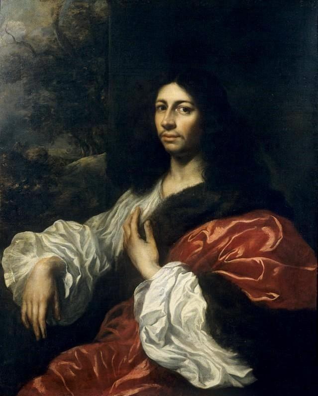 Ян Ливенс. Портрет молодого человека (Автопортрет)