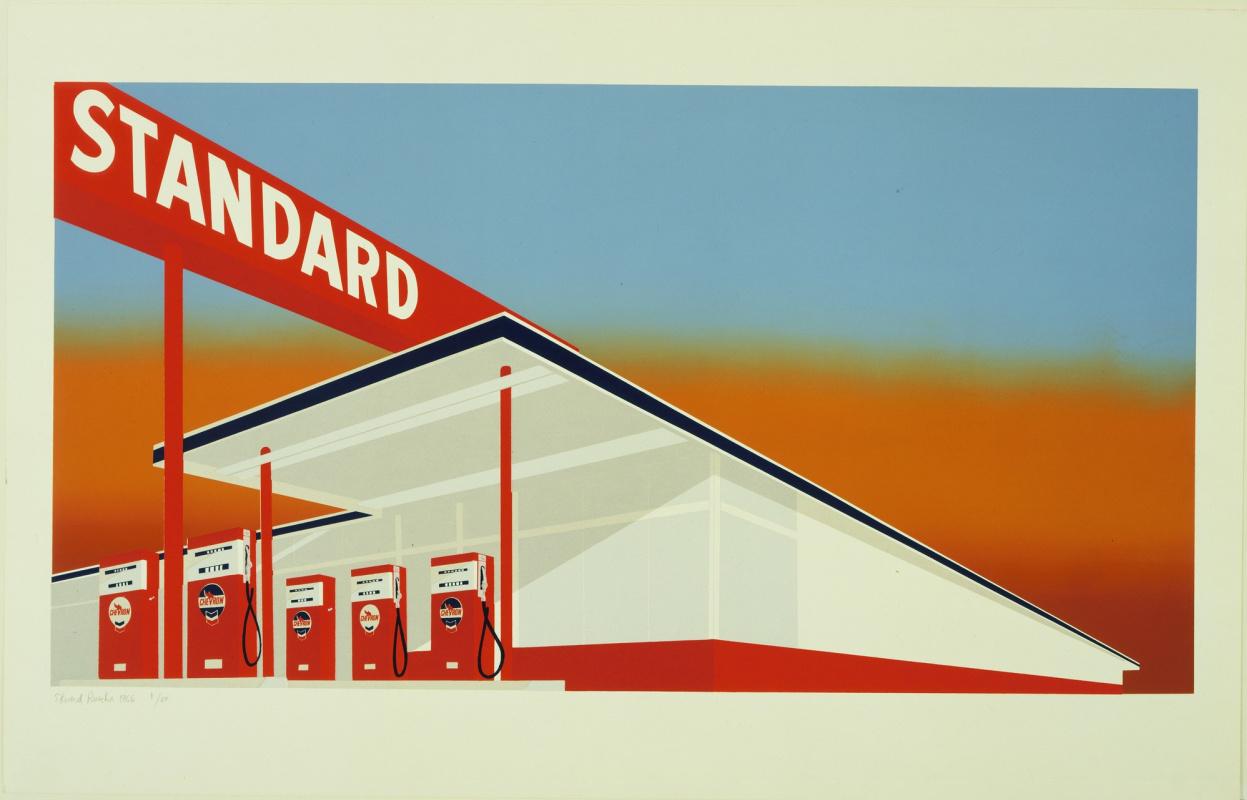Ed Ruscha. Standard station