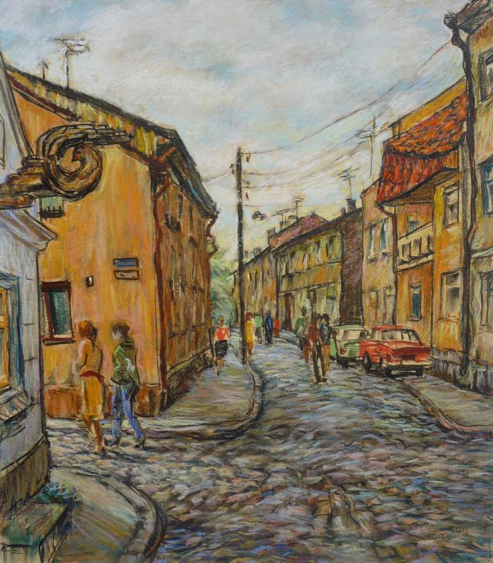 Виктор Романович Семыкин. Старая улица Клайпеды