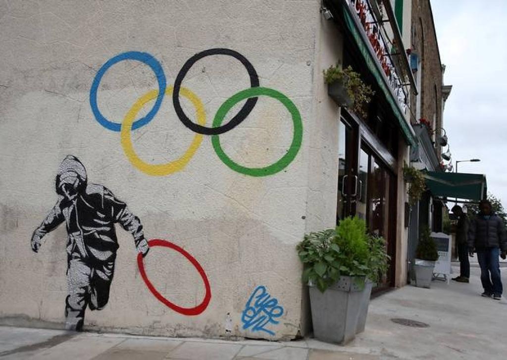 Banksy. Olympic Series 1