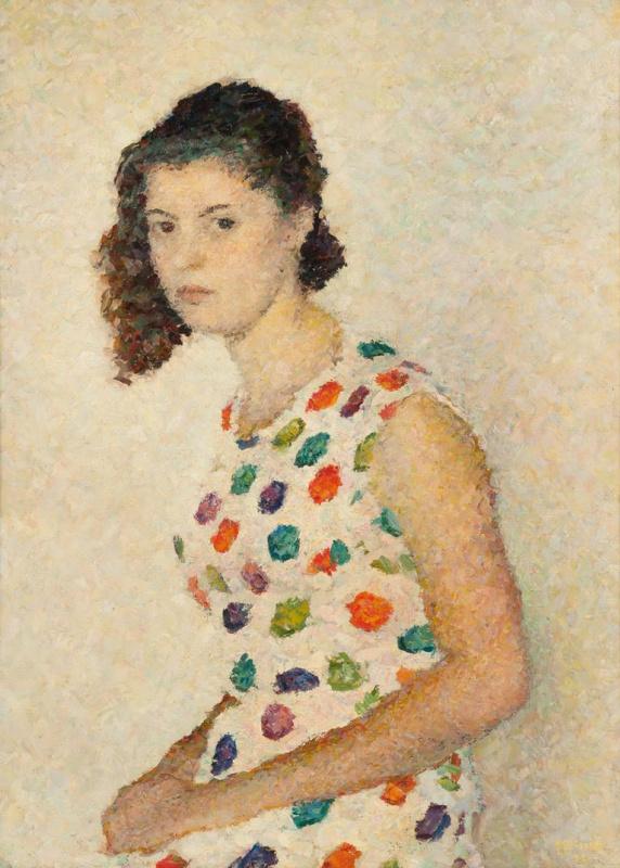 Портрет Маши Либединской