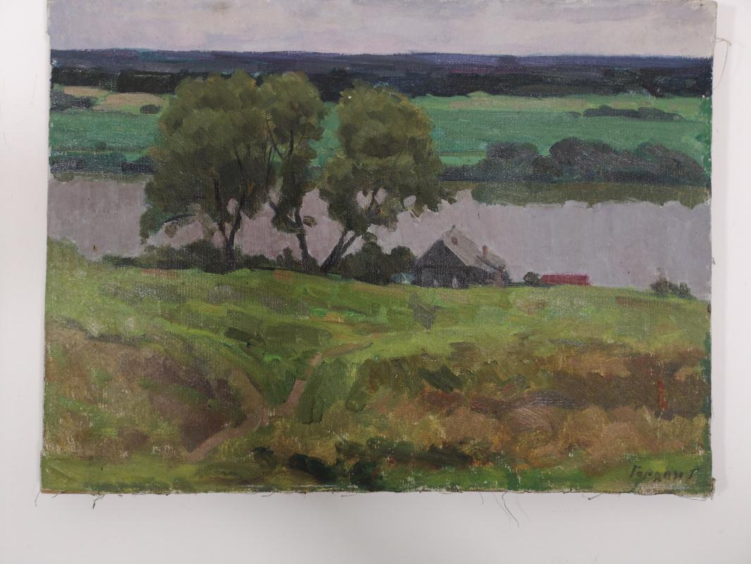 Gordon Meerovich Grigory (1909 - 1995). Prioksky landscape