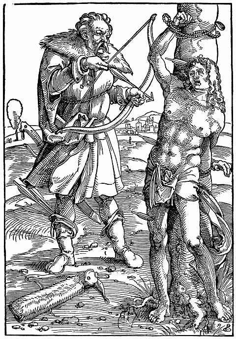Ханс Бальдунг. Мученичество святого Себастьяна