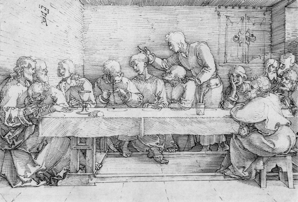 Albrecht Dürer. The last supper