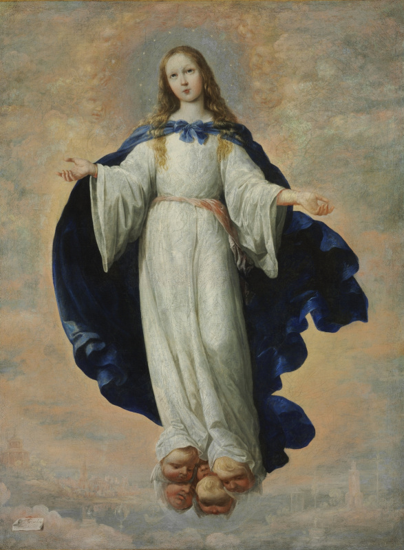 Francisco de Zurbaran. Immaculate conception