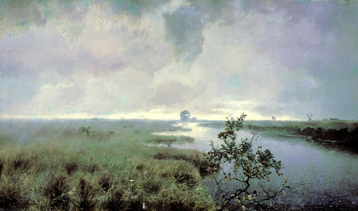 Иван Иванович Ендогуров. Дождь