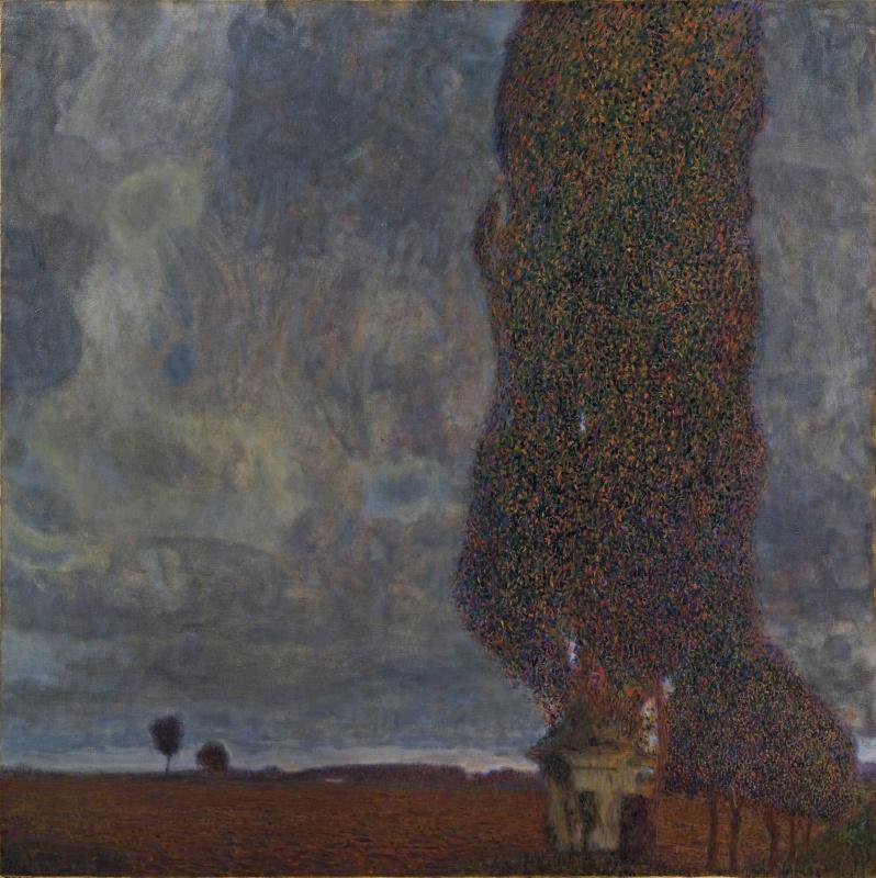 Густав Климт. Большой тополь II (Надвигающаяся гроза)
