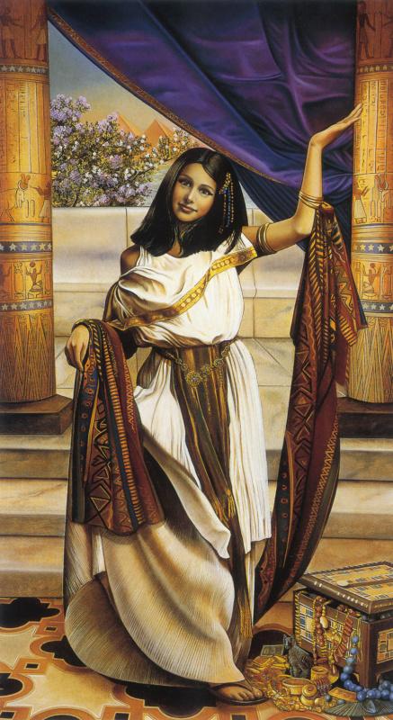 Клаудия Грисбах-Мартуччи. Дочь фараона