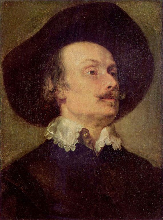 Anthony van Dyck. Portrait Of Peter Snayers