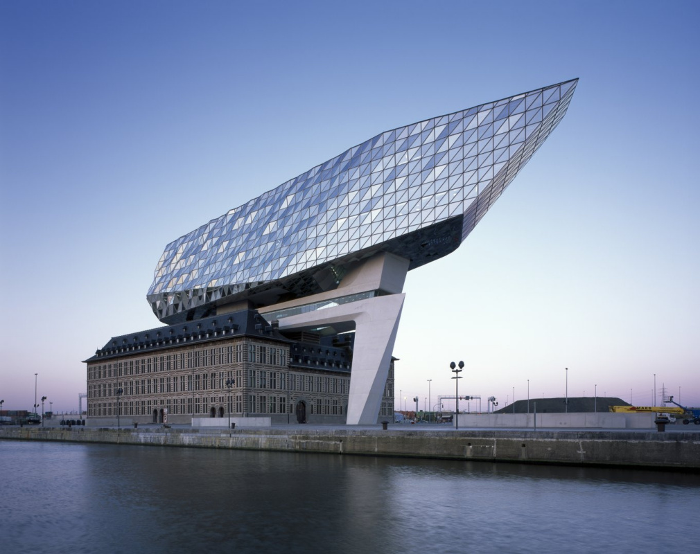 Zaha Hadid. Port house