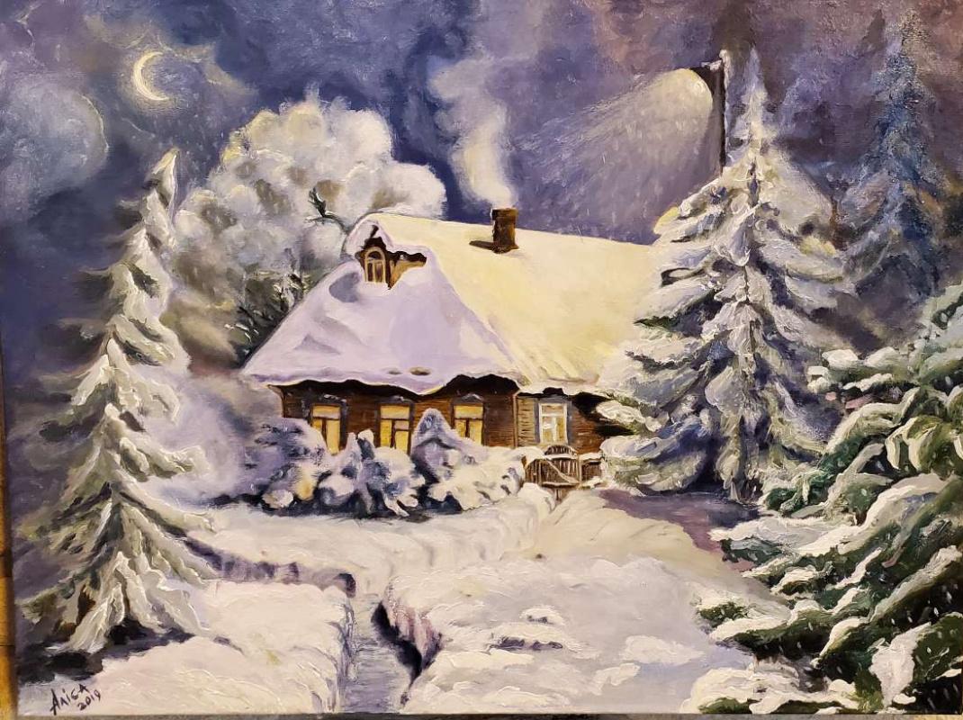 Alisa Shymanska. Winter Tale
