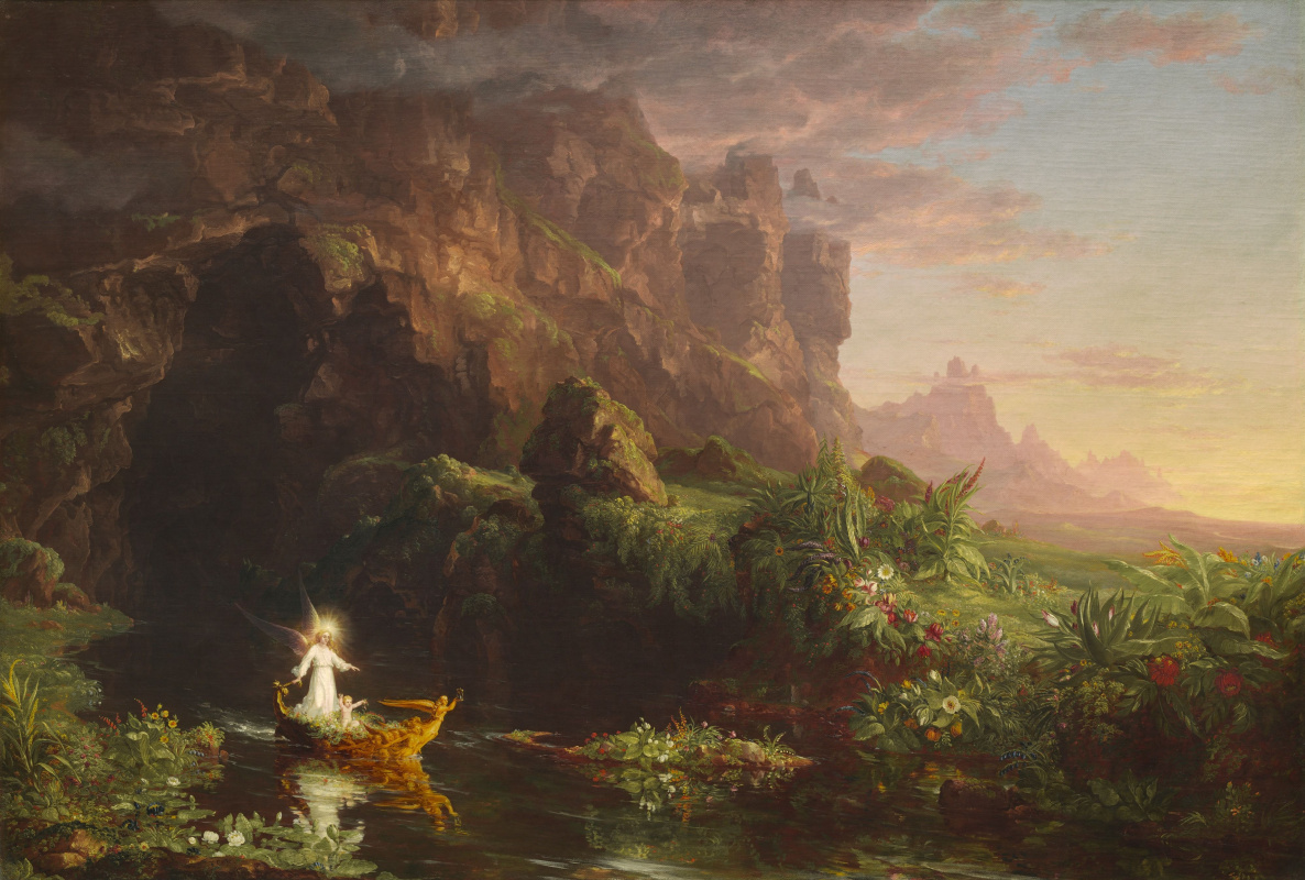 Thomas Cole. The journey of life. Childhood