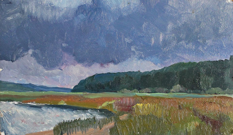 Victor Ashotovich Abrahamyan. Meadow Valley