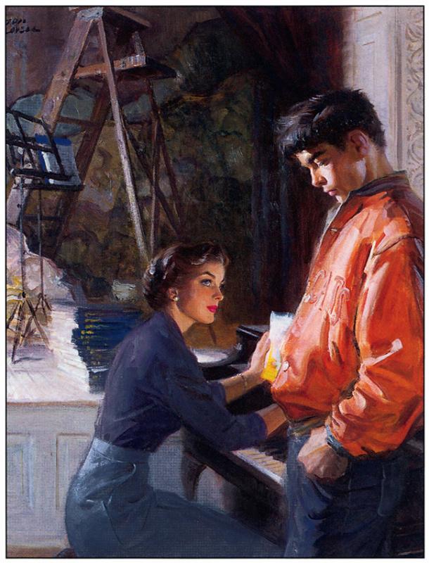 Том Ловелл. Мужчина и женщина