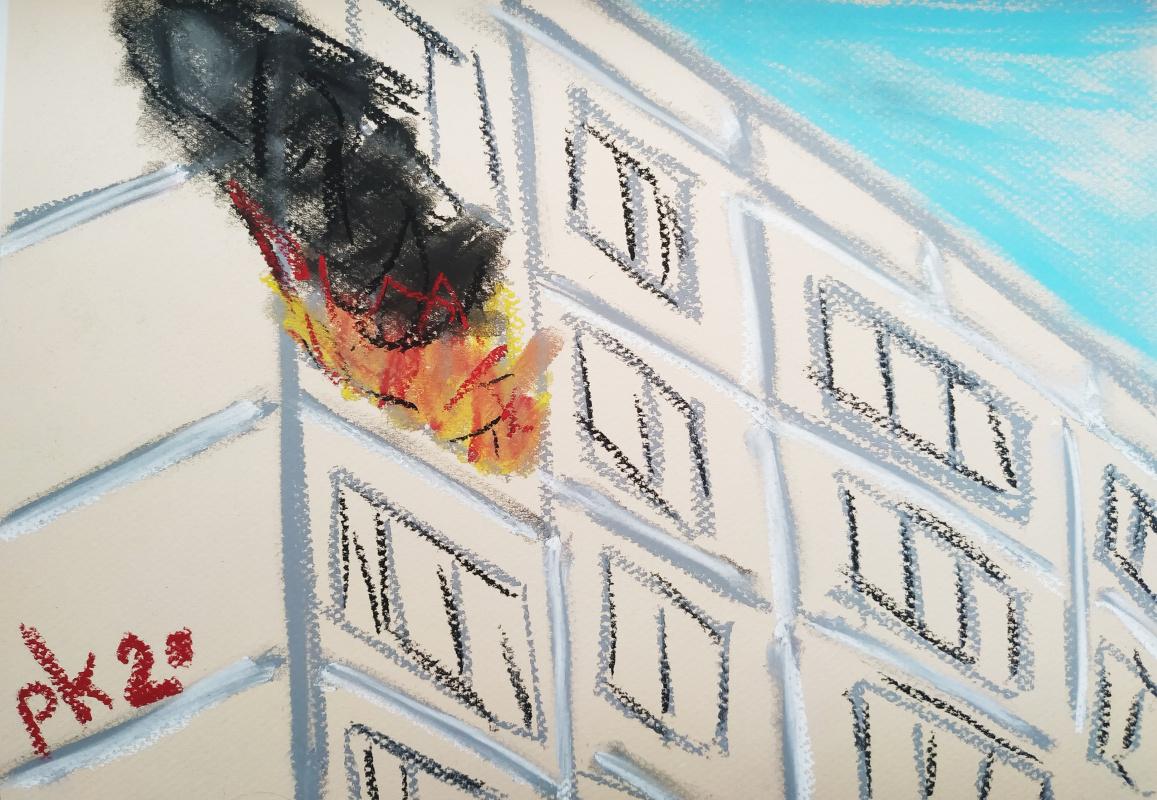 "Триптих ""Огонь"" / Triptych ""Fire"""