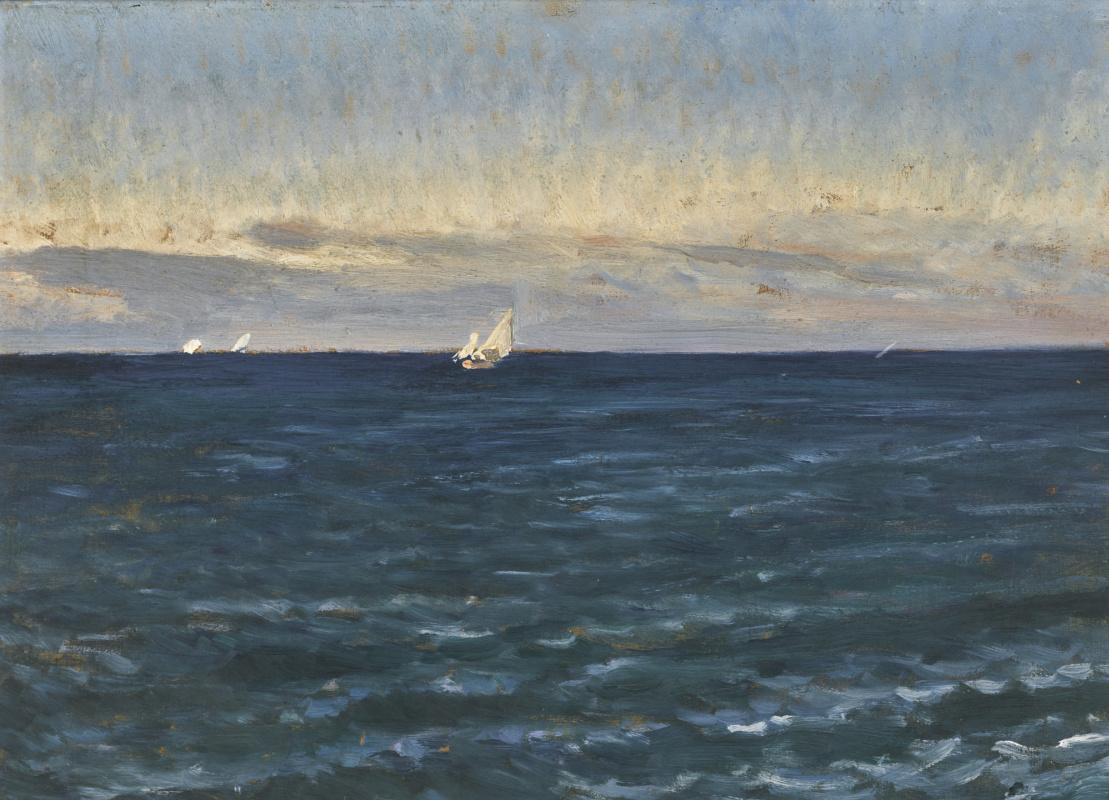 Pál Szinyei Merse. Capri