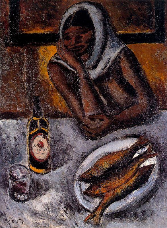 Артуро Соуто. Женщина и рыба