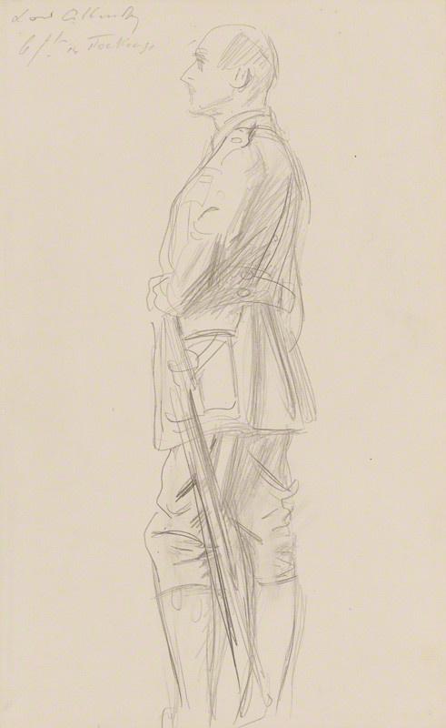 John Singer Sargent. Edmund Henry Hynman Allenby, 1st Viscount Allenby