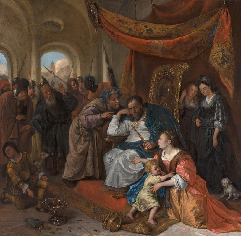 Ян Стен. Моисей и корона фараона
