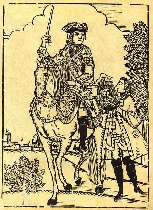 Карл Густав Берлинг. Король верхом на коне