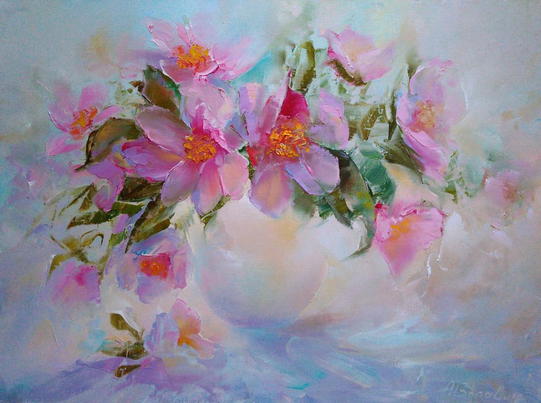 Andrei Ivanovich Boravik. Spring bouquet