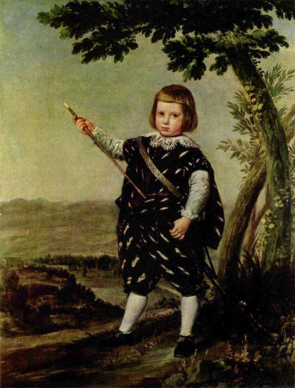 Хуан Батиста Мартинес дель Масо. Портрет инфанта дона Бальтазара Карлоса
