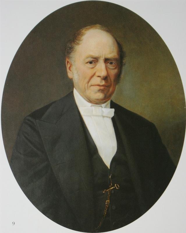 Николай Васильевич Неврев. Мужской портрет. 1869