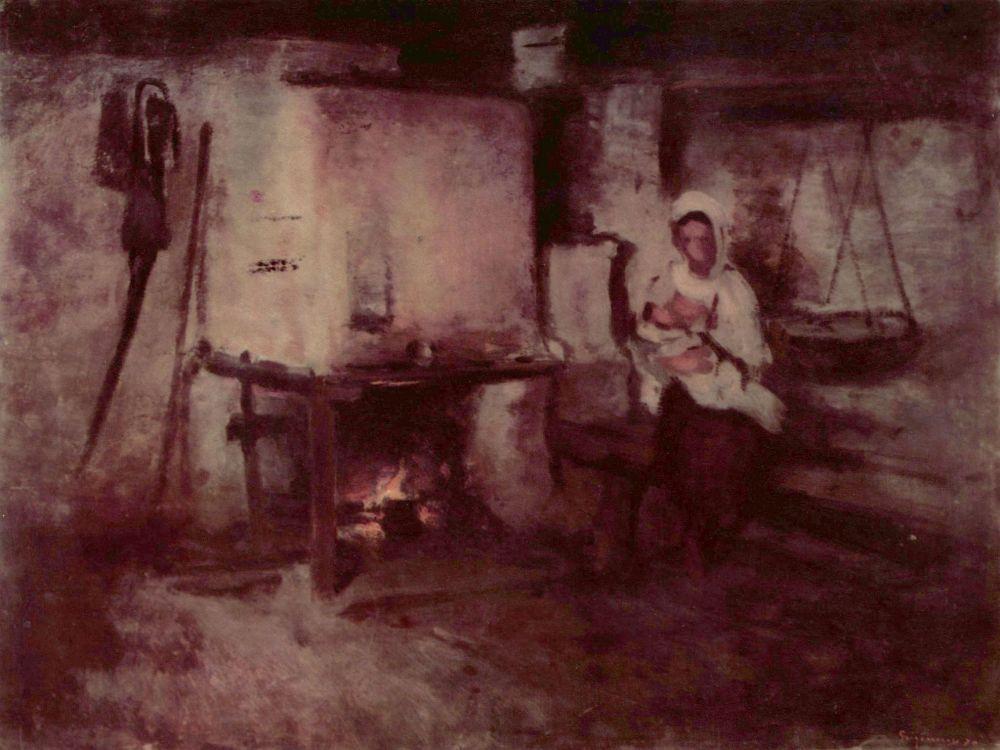 Николае Григореску. Домашний очаг в Рукэре