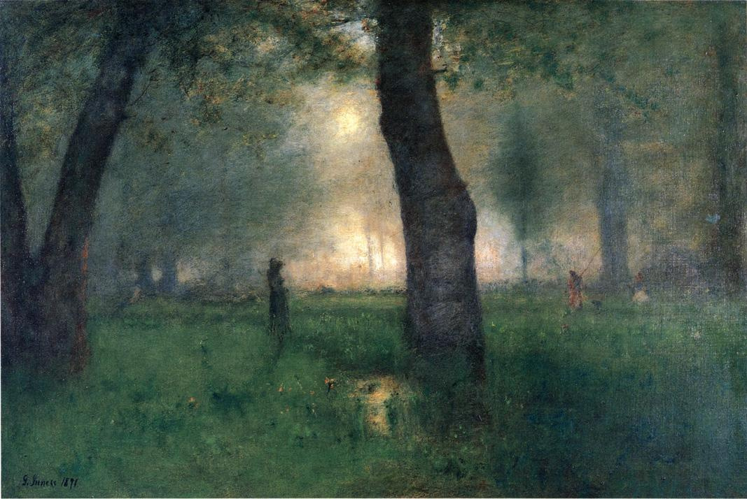 George Innes. The Trout Brook