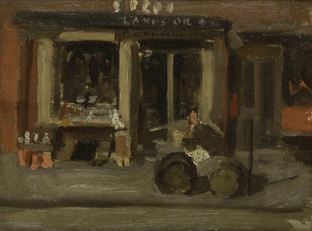 Thomas Eakins. Street scene
