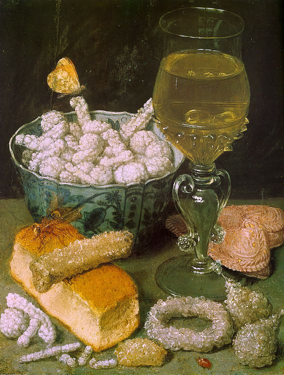Georg Flegel. Still life with bread
