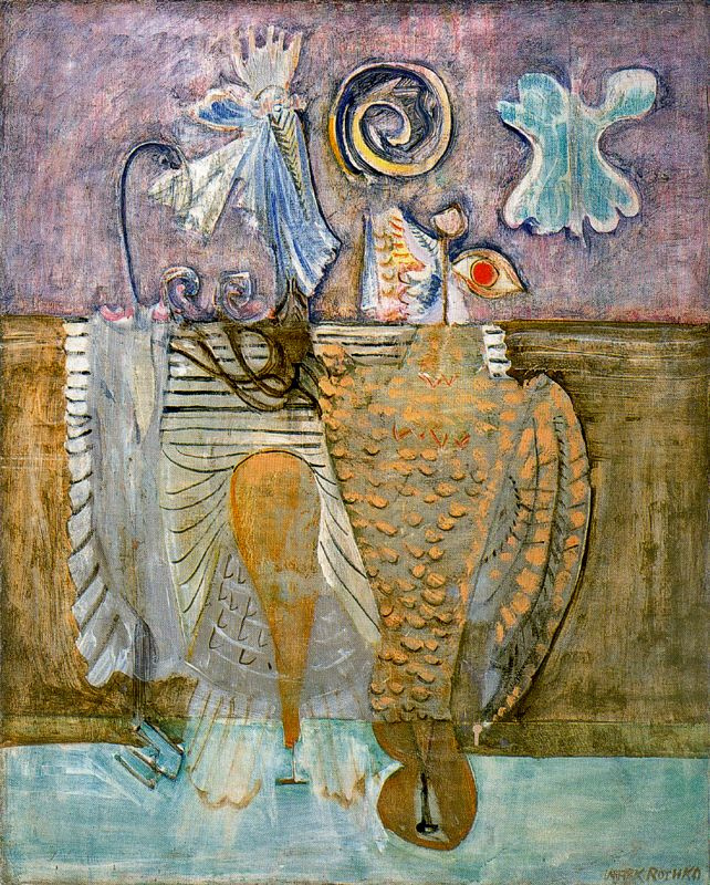 Rothko Mark. Hierarchical birds