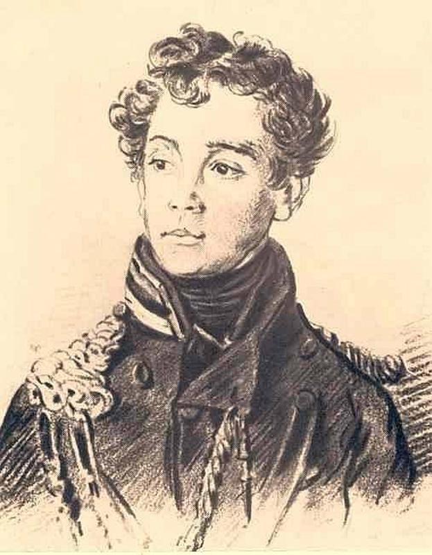 Orest Adamovich Kiprensky. Portrait of an unknown officer
