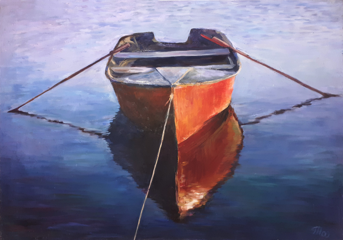 Gorelkina. A boat