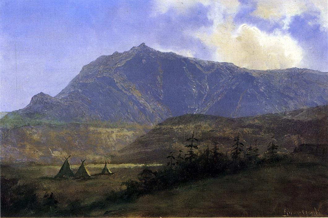 Альберт Бирштадт. Горы