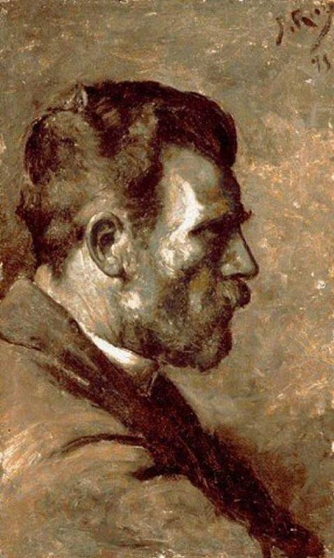 Pablo Picasso. A father's portrait of Picasso
