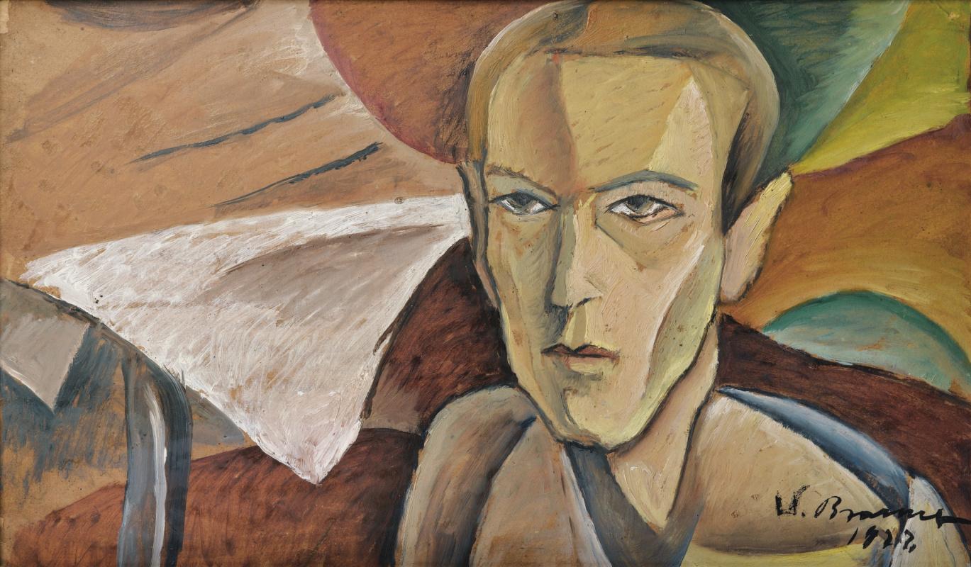 Victor Browner. Portrait of a Man