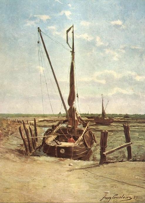 Франц Коуртенс. Лодка