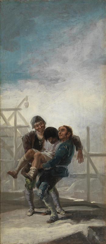 Francisco Goya. The Injured Mason
