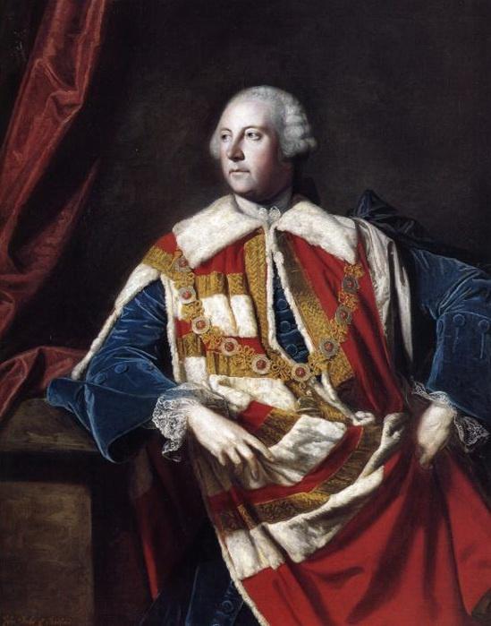 Joshua Reynolds. Portrait of John Russell, 4th Duke of Bedford